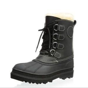 Kamik Pearson Black Waterproof Snow Winter Boots